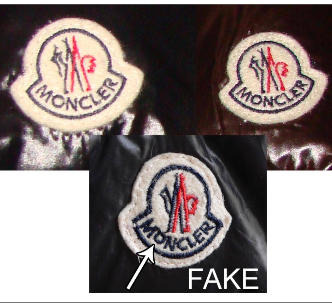 come riconoscere moncler falso