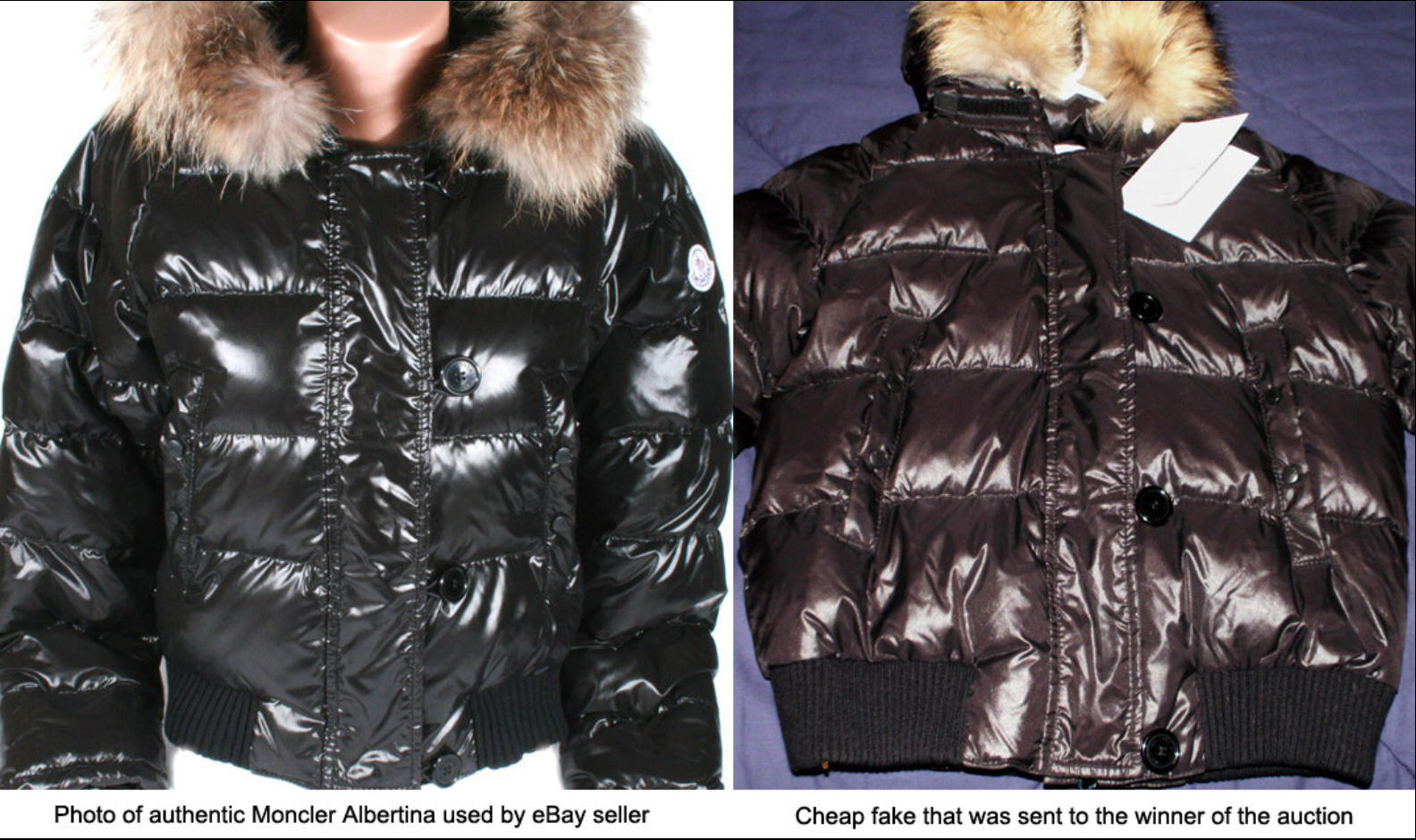 4876032ebf9820 It is really hard to distinguish the fake from a genuine jacket as there  have been made so many variations.