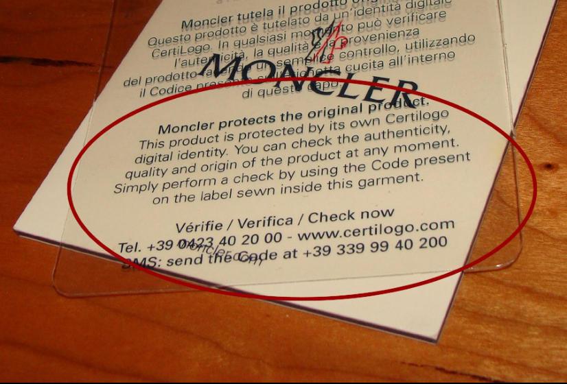 certilogo moncler